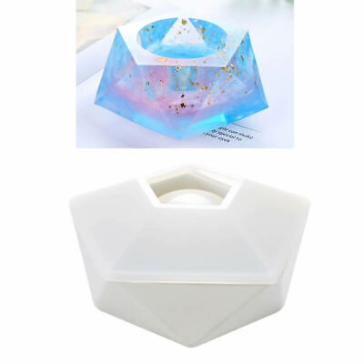 Silicone flower pot base teacup cushion ring epoxy DIY mold resin mold glue L0A8