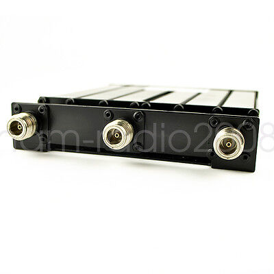 UHF 6 CAVITY mobile DUPLEXER for radio repeater  380-520Mhz For Kenwood