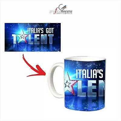 Tazza Italia's Got Talent mug serie tv  lavabile alta qualità idea regalo