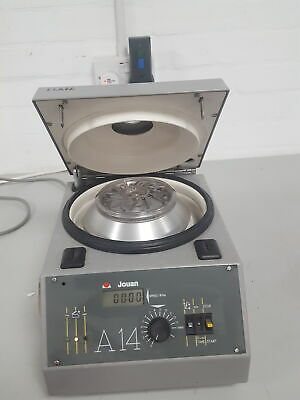 Jouan A14 BenchTop Centrifuge With Rotor Lab