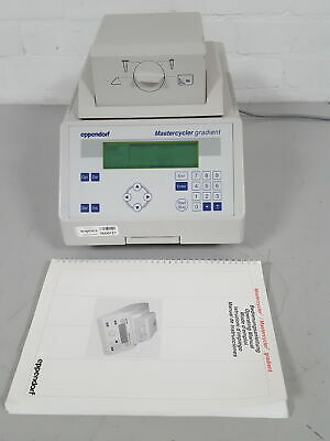 Eppendorf 5331 MasterCycler Gradient Thermal Cycler PCR