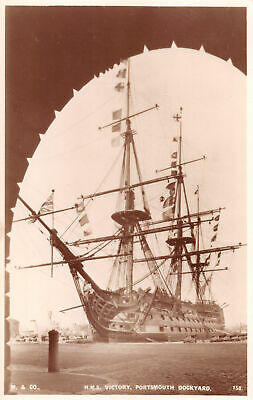 R289495 M. and Co. H. M. S. Victory. Portsmouth Dockyard. 158. RP