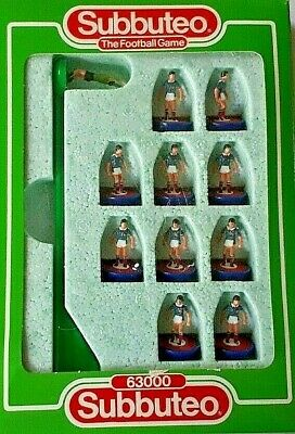 Subbuteo L/w 680 SCOTLAND COMPLETE TEAM SET
