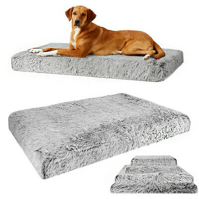 XXXL XXL Extra Large Foam Pet Dog Bed Soft Plush Orthopedic Joint Relief Mat Bed