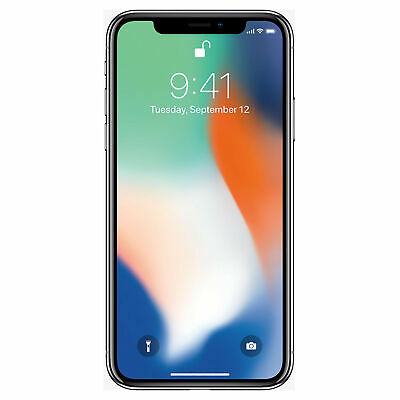 Apple iPhone X 64GB Unlocked GSM Phone - Silver (Dents/Scratches)