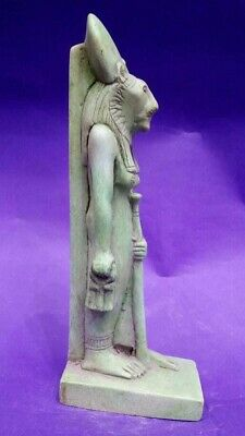 ANCIENT EGYPTIAN ANTIQUES Statue Of Goddess SEKHMET Powerful Deities Stone BC