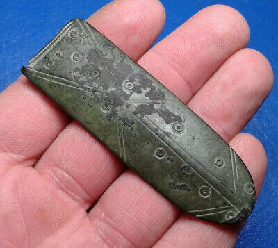 Ancient Celtic Bronze Buckle.
