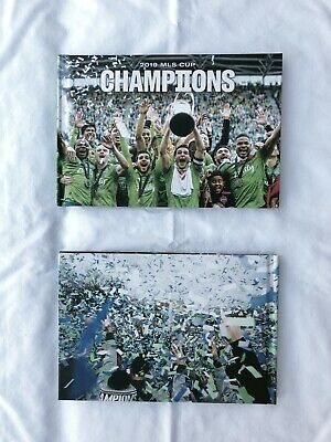 "2019 Seattle Sounders ""CHAMPIONS"" Book - Free Ship!"