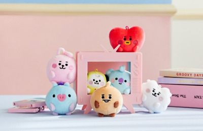 BTS BT21 Official Baby Character PongPong Standing Mini Doll KPOP Authentic Item