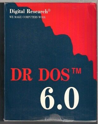 """DR DOS 6.0 - 5.25"""" -  Digital Research"""