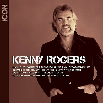 ICON: Kenny Rogers by Kenny Rogers (CD, Oct-2013, Capitol) *NEW* *FREE Shipping*