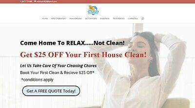 House Cleaning Business For Sale Work From Home All Setup. Start Earning Today