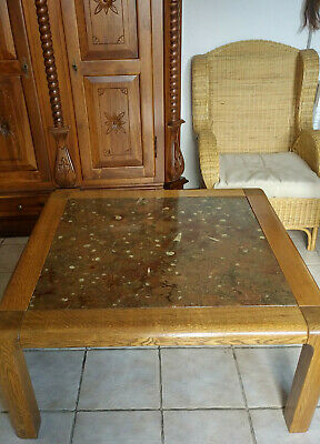 ROLF BENZ COLLECTION FOSSILE Couchtisch,Expertise nr.1444