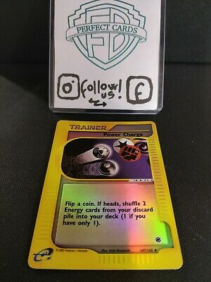 Pokémon Expedition Power Charge Reverse 147/165 Nm- Eng
