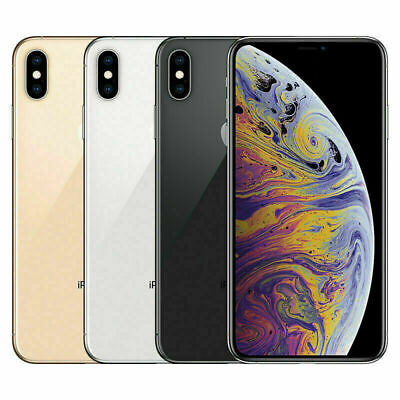 Apple iPhone XS 64GB Smartphone Mobile - All Colours - Unlocked iOS Camera WiFi