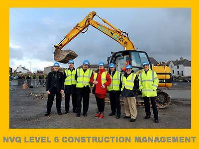 NVQ Diploma Level 6 Construction Site Management Building Site Manager Foreman