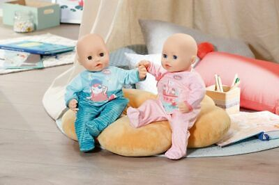 Baby Annabell My First Romper Outfit For 43cm Dolls Pink or Blue Zapf Creation