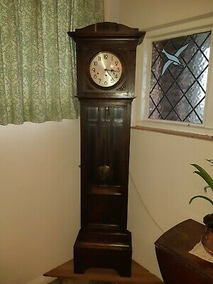 Vintage longcase grandfather clock