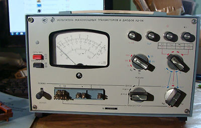 L2-54 Semiconductor low-power transistors and diodes analyzer meter Soviet NOS