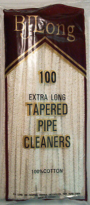 BJLong 100 Extra Long Tapered Pipe Cleaners