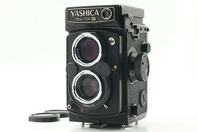 【 MINT Meter Works!! 】 Yashica Mat-124G 6x6 TLR Medium Format Camera from JAPAN