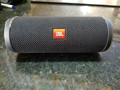JBL Flip 4 Waterproof Portable Speaker -Black
