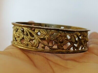 Rare Ancient Bracelet Roman Bronze Authentic Beautiful Artifact