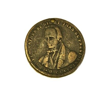 Henry Clay Presidential Token 1848
