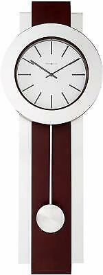 Howard Miller Bergen Wall Clock 625-279 – Modern Pendulum & Quartz Movement