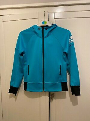 Girls Adidas Tracksuit Top Age 9-10 Years