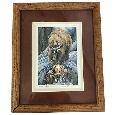 Dancing In A Circle Of Life by Jody Bergsma Framed Double Matted 8x10 Print MMS