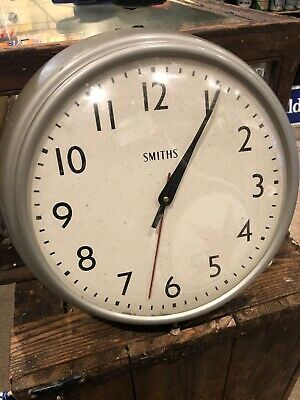 Smiths Vintage Electric 240v Wall Clock