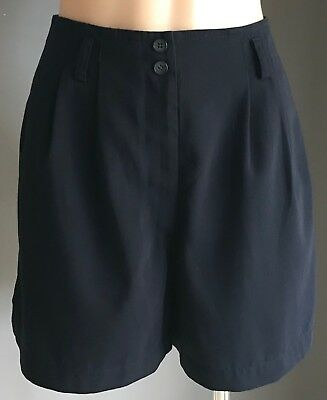 Vintage Womens Navy Blue COUNTRY ROAD Shorts Size 8