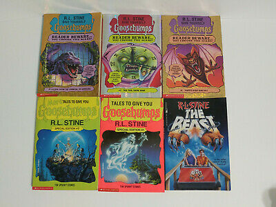 Goosebumps Books Lot RL STINE 90s Reader Beware 1 2 3 Special Edition The Beast