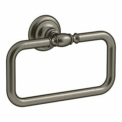 KOHLER K-72571-VNT Artifacts(Tm) Towel Ring, Vintage Nickel