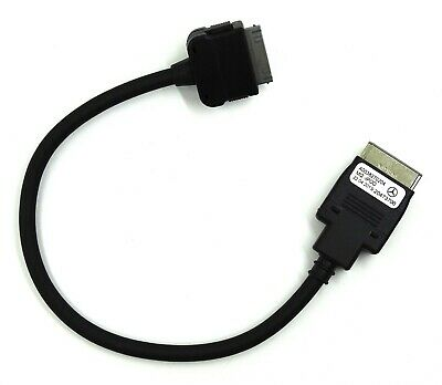 GENUINE MERCEDES MEDIA INTERFACE CABLE LEAD IPOD IPHONE 4 A0038270204 used