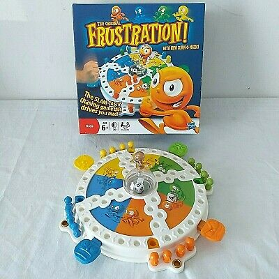 Frustration Board Game with New Slam-o-Matic 2011 Hasbro 100% Complete Boxed