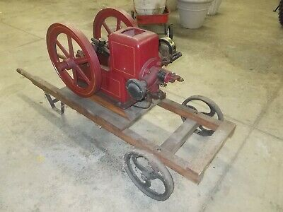 Nelson Bros Hit and Miss Engine....1-1/2 Hp....Gas Engine...