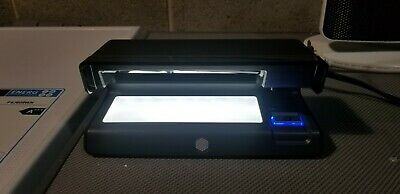 Safescan 70 Black - UV counterfeit detector with LED light
