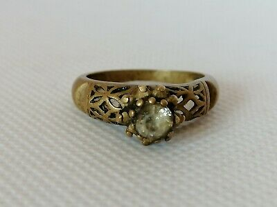 Ancient Roman Ring Bronze Artifact Rare Authentic Museum Quality