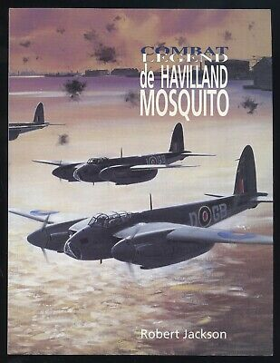 COMBAT LEGEND de HAVILLAND MOSQUITO BY Robert Jackson  (15139)