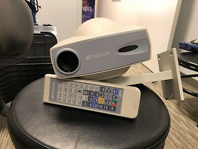 Topcon ACP-8 Auto Chart Projector with remote control and wall mount