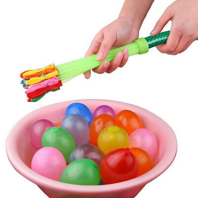 150 Water Balloons Bombs Kids Summer Party Outdoor Fun Toys Bag Fillers Gifts