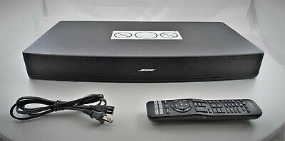 Bose Solo 15 TV Sound System Series II Bluetooth Speaker w/ Remote & Cable