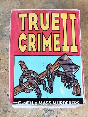 1992 True Crime Series #2 Complete Set W/ Wrapper (111-220)-Cards Are Mint