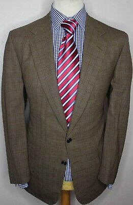 Chester Barrie Savile Row Bespoke Jacket Hand Tailored In England Canvassed 42R