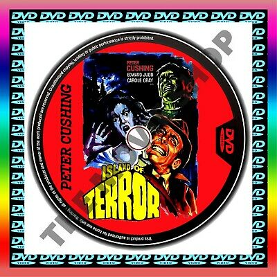 Island Of Terror   Peter Cushing, Edward Judd & Carole Gray