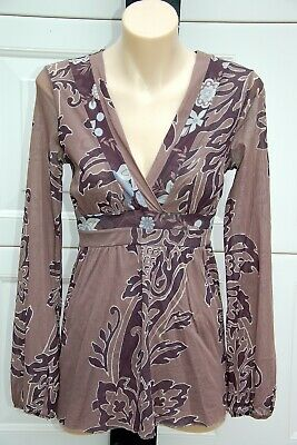 SWEET PEA by STACY FRATI Maternity Top - Size M - EUC