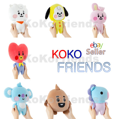 BTS BT21 Official Baby Character Mini Body Flat Cushion KPOP Goods Authentic MD
