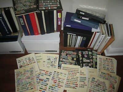 1,000,000 STAMPS,unsearched packed into glassines,100+ per lot ,all different.